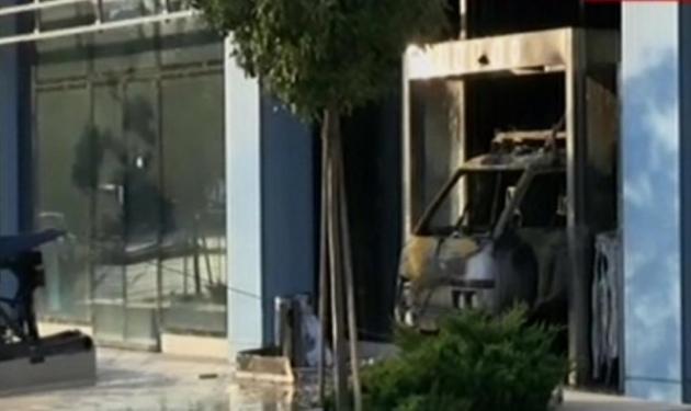 Εμπρηστική επίθεση στα γραφεία της Microsoft στο Μαρούσι | tlife.gr