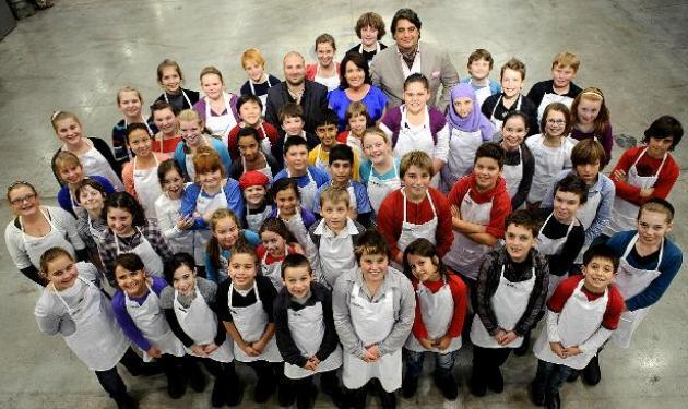 Λήξης γυρισμάτων για το «Master Chef Junior» ! | tlife.gr