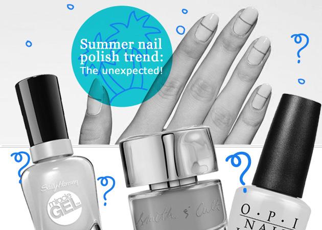 Νύχια καλοκαίρι 2016: αυτή η τάση στο χρώμα είναι η πιο απρόσμενη και stylish μαζί!