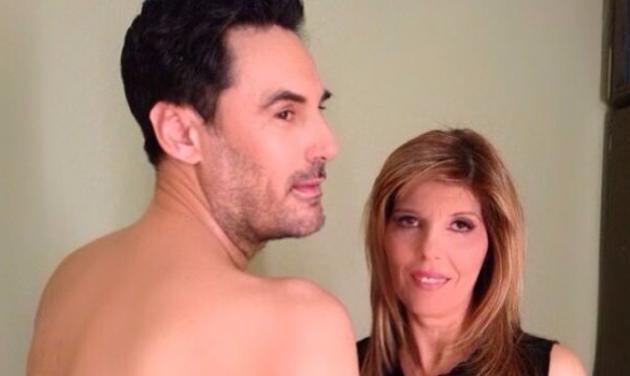 Χ. Νέζος: Τι κάνει… γυμνός στο καμαρίνι της Κατερίνας Στανίση; | tlife.gr