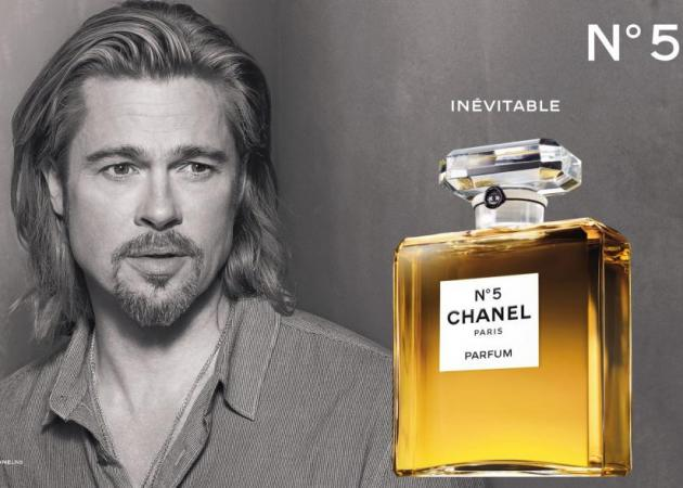 Breaking news! Δες το νέο βίντεο του Brad Pitt για το Chanel no 5!