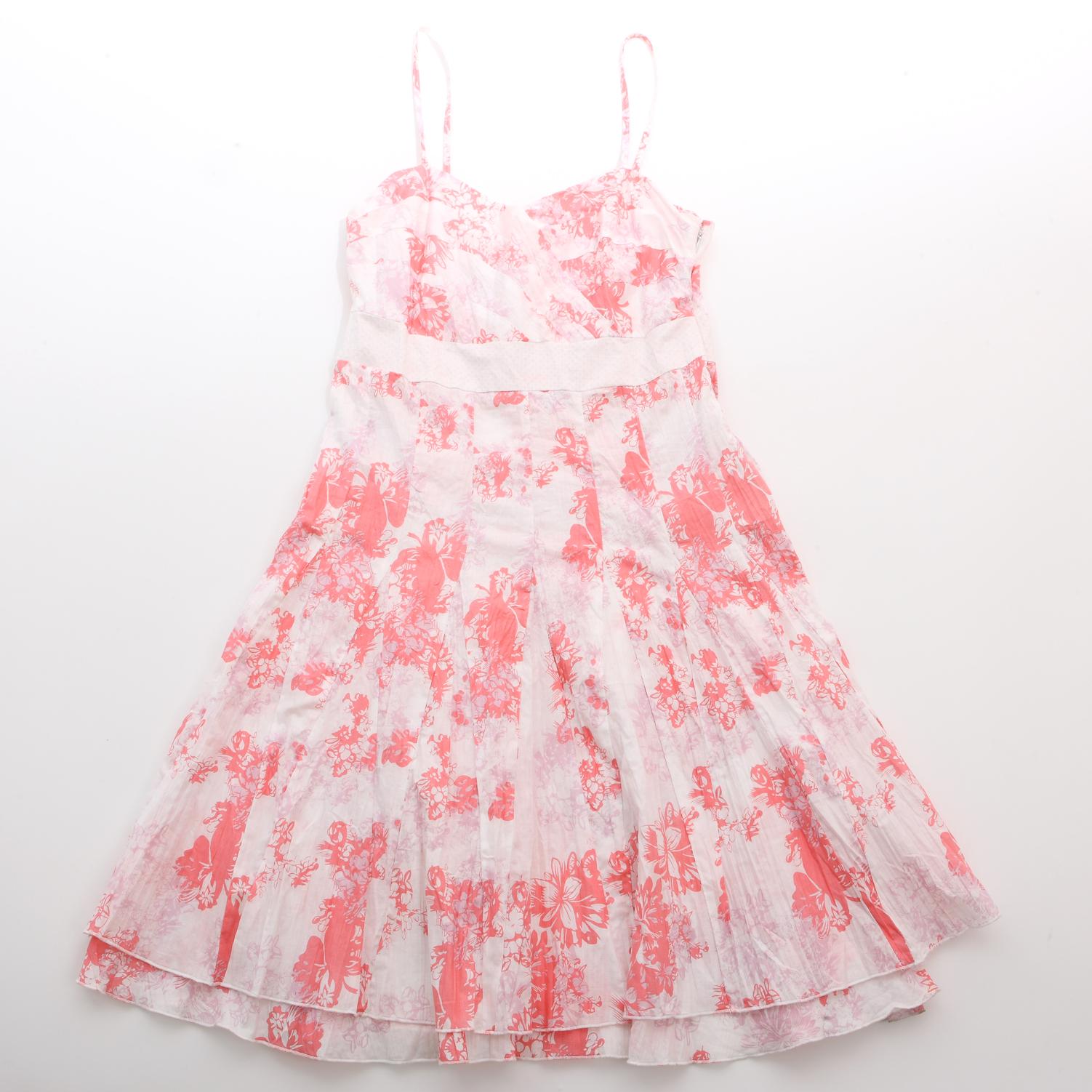 6 | Μίνι φόρεμα σε ροζ και άσπρο Oxmo