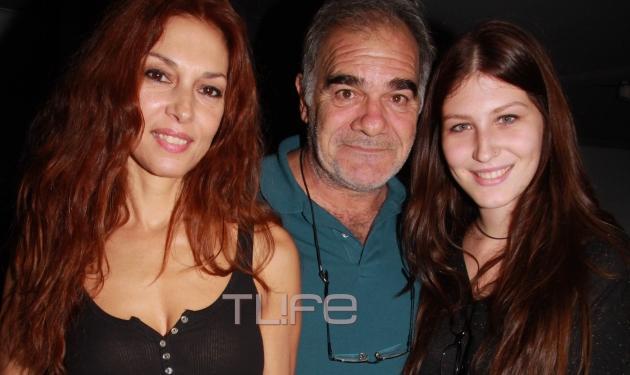 Γιάννης Μποσταντζόγλου – Δήμητρα Παπαδήμα: Με την κόρη τους στο θέατρο!