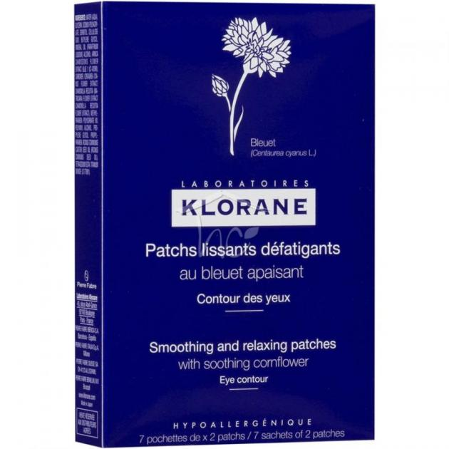 10 | Klorane Patchs Lissants Defatigants