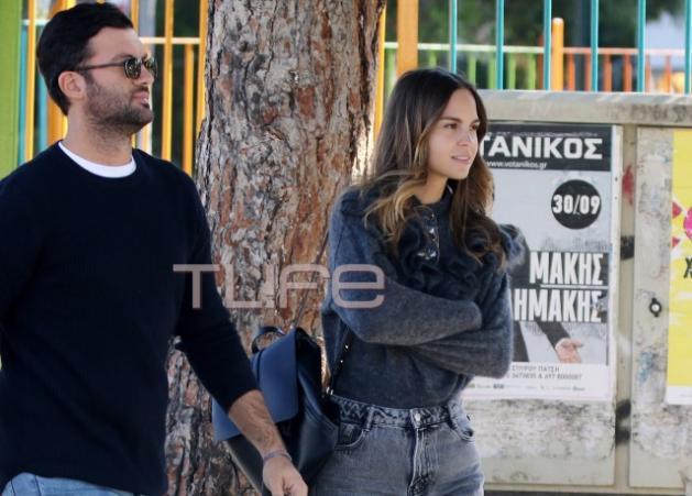 Πατρίτσια Μίλικ Περιστέρη – Τζωρτζ Παπακώστας: Φθινοπωρινή βόλτα στη Γλυφάδα! | tlife.gr