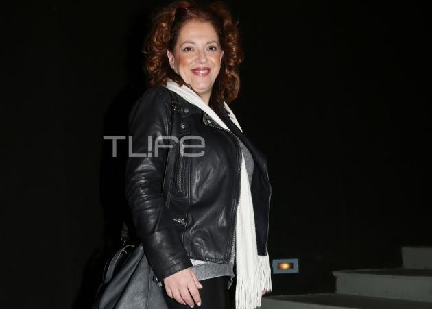 Ελένη Ράντου: Βραδινή έξοδος στο Εθνικό Θέατρο!   tlife.gr