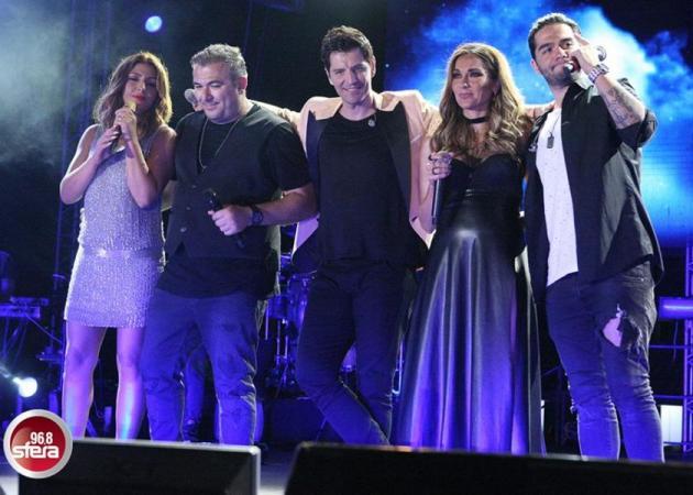 Σάκης Ρουβάς: Ξεσήκωσε την Κύπρο στη μεγάλη συναυλία με Ρέμο, Βανδή, Παπαρίζου!