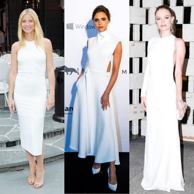 72abb813fba Οι stars επιλέγουν λευκά φορέματα!   tlife.gr