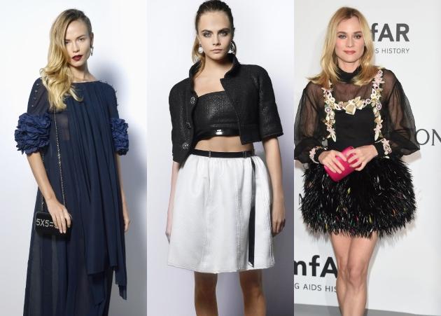 ΚΑΝΝΕΣ 2015: Ποιες stars επέλεξαν Chanel δημιουργίες;