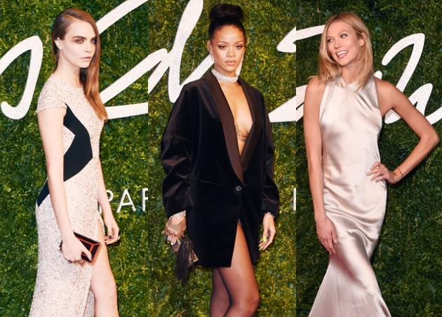 British Fashion Awards 2014: Τι φόρεσαν οι επώνυμες στο κόκκινο χαλί