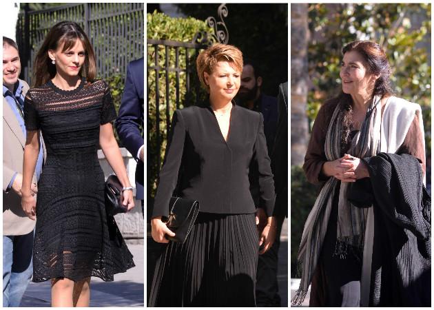 Women in black! Τι φόρεσαν οι γυναίκες της νέας κυβέρνησης στην ορκωμοσία! [pics]