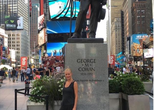 Ζέτα Μακρυπούλια: Το ταξίδι της στη Νέα Υόρκη!