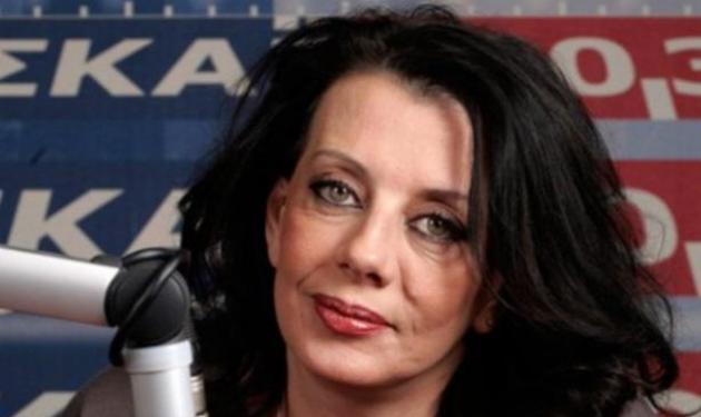 """Κατερίνα Ακριβοπούλου: """"Αποχωρώ από τον ΣΚΑΪ για λόγους αξιοπρέπειας"""""""