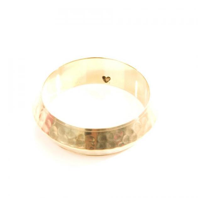 3 | Μεταλλικό βραχιόλι σε χρυσό χρώμα Alexi Andriotti Accessories