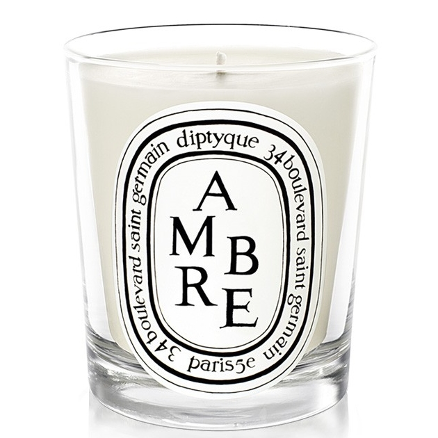 10 | Diptyque scented candle Amber