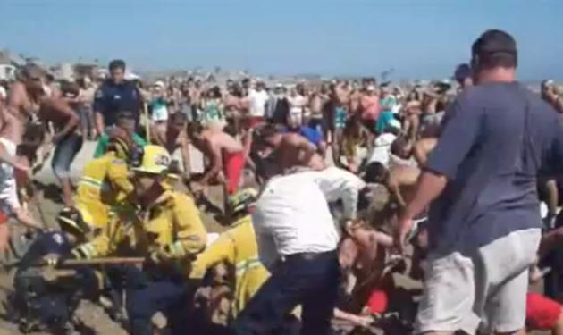 Σοκ! Έμεινε θαμμένος στην άμμο για 40 λεπτά! | tlife.gr