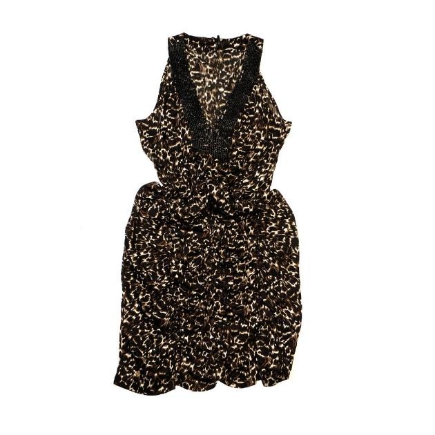 8 | Φόρεμα με animal print Fullah Sugah by Skondras