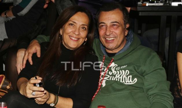 Ο Αντύπας, διασκέδασε με τη σύζυγό του! Φωτογραφίες | tlife.gr