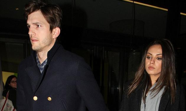 Mila Kunis – Ashton Kutcher: η βόλτα τους στο Λονδίνο χέρι- χέρι!   tlife.gr