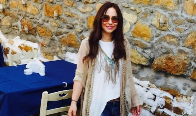 Μελίνα Ασλανίδου: Δες την θέα που απολαμβάνει παρέα με την μεγάλη αγάπη της!