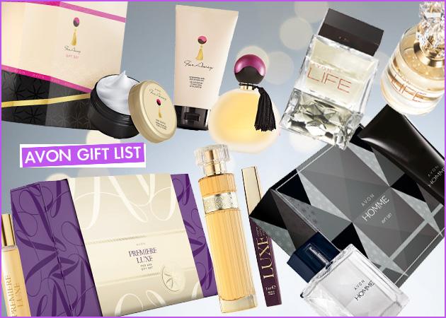 Η λίστα με τα δώρα από την Avon που θα κάνει χαρούμενο κάθε αγαπημένο σου πρόσωπο χωρίς να ξοδέψεις μια περιουσία!
