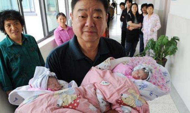 Γέννησε 60χρονη Κινέζα δίδυμα! | tlife.gr