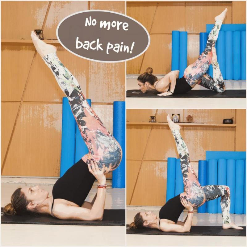 Πόνος στη μέση; Με αυτές τις ασκήσεις θα νιώσεις αμέσως..