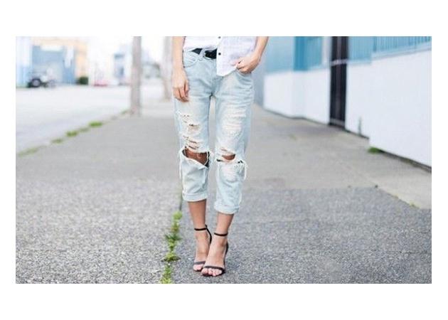 Πως να φορέσω το boyfriend jeans μου τώρα το καλοκαίρι;