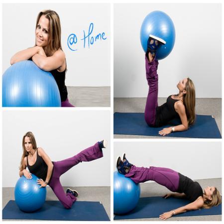 1 | Ασκήσεις με μπάλα από τη Σόφη Πασχάλη! Σήμερα γυμνάζουμε γλουτούς και πόδια...