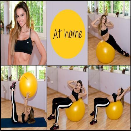 1 | ΕΠΙΠΕΔΗ ΚΟΙΛΙΑ! Η Σόφη Πασχάλη σου δείχνει ασκήσεις με μπάλα για να είσαι έτοιμη να φορέσεις μπικίνι