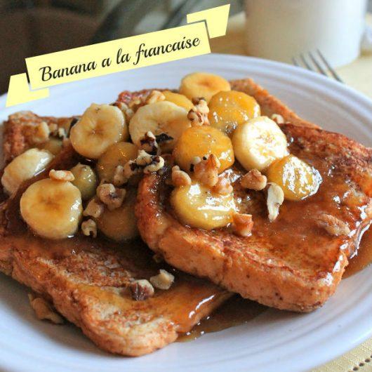 French Toast με μπανάνα και ξηρούς καρπούς   tlife.gr