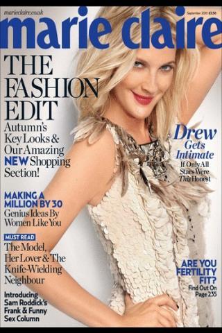 13 | Η Drew Barrymore φωτογραφίζεται για το Marie Claire!