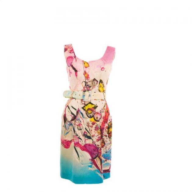 10 | Φόρεμα με φουτουριστικά τυπώματα Zilly