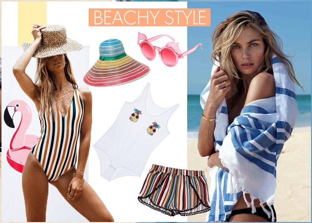 Ρούχα και αξεσουάρ για στιλάτες εξορμήσεις στην παραλία   tlife.gr