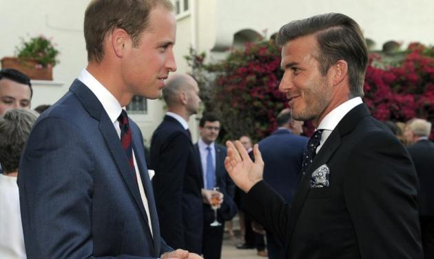 Πού συνάντησε ο David Beckham το πριγκιπικό ζεύγος;   tlife.gr
