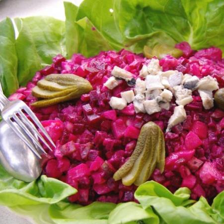 Παντζαρο σαλάτα