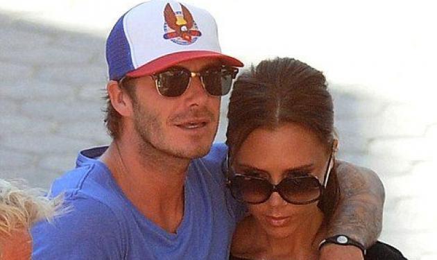 David και Victoria Beckham σε τρυφερές στιγμές! | tlife.gr