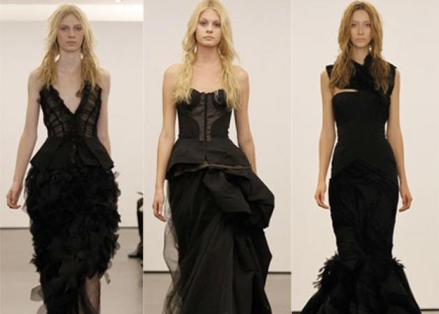 H Vera Wang δημιούργησε μαύρα νυφικά! Δες τις φωτογραφίες.. | tlife.gr