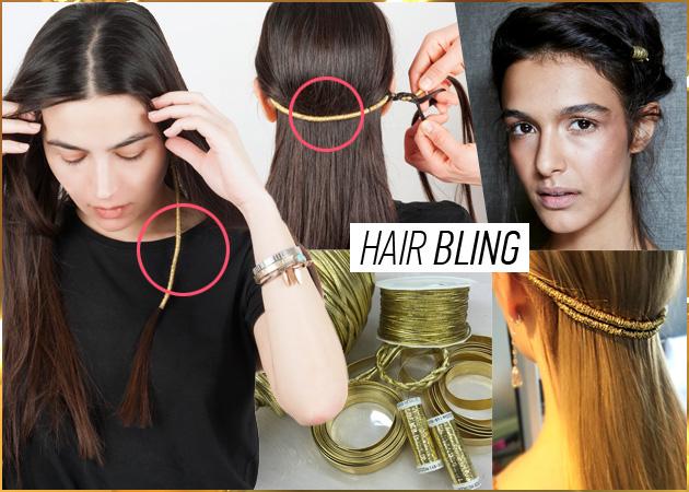 Χρυσή κλωστή στα μαλλιά! H νέα cool τάση που κοστίζει σχεδόν… 0 ευρώ!
