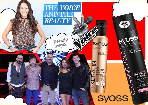 The Voice! Το μεγαλύτερο μουσικό show της χώρας ξεκίνησε και μαζί με το Syoss θα σου δείχνουμε τέλεια μαλλιά!