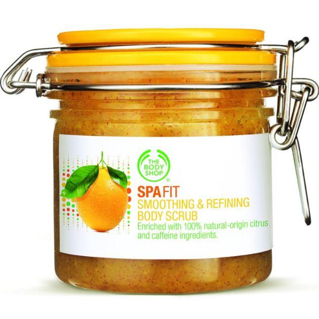 1 | The Body Shop Spa Fit Body Smoothing & Refining Body Scrub
