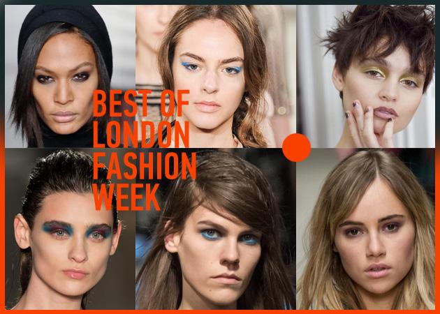 Τα 10 καλύτερα make up και μαλλιά από το London Fashion Week!