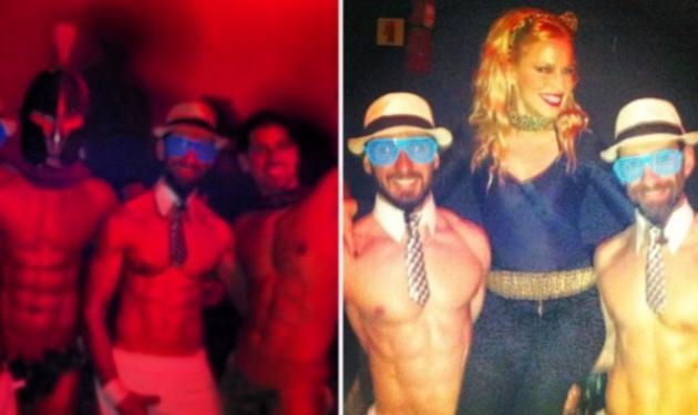 Ν. Μπουλέ: Διασκέδασε σε αποκριάτικο πάρτυ! Κάτι όμως …δεν πήγε καλά! Φωτογραφίες