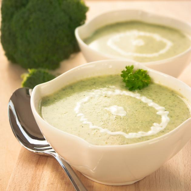 Νηστίσιμη Σούπα μπρόκολο