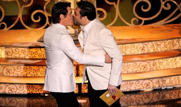 Το φιλί των Oscar που δεν είδαμε ποτέ!