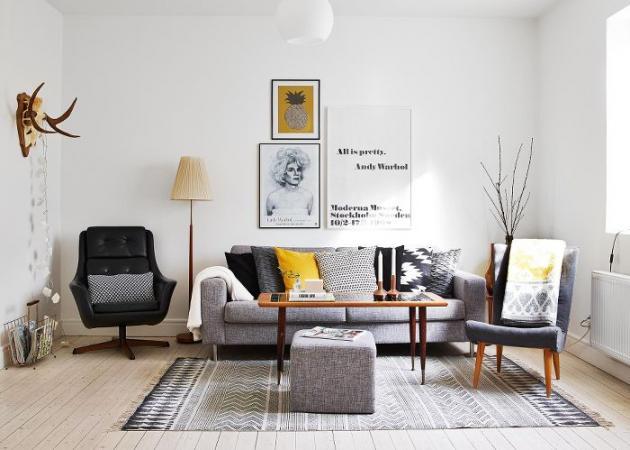 """Πέντε """"χρυσοί"""" κανόνες που θα κάνουν το σαλόνι σου ονειρεμένο   tlife.gr"""