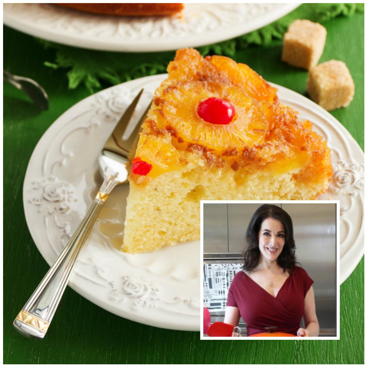 Ανάποδο κέικ με ανανά