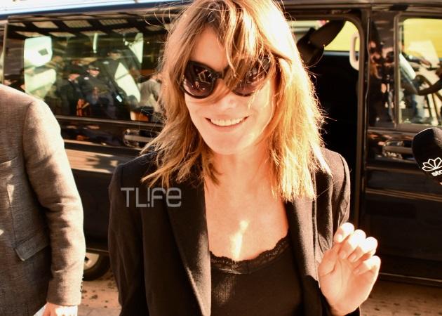Carla Bruni – Nikolas Sarkozy: Οι πρώτες ώρες στην Αθήνα, το ξενοδοχείο που μένουν και η βραδινή έξοδος [pics] | tlife.gr