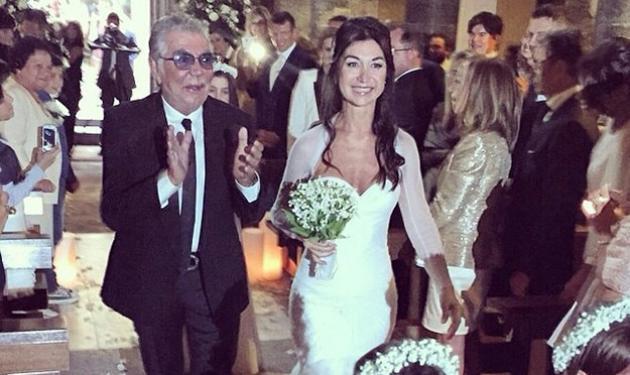 Πάντρεψε την κόρη του ο Roberto Cavalli! Φωτογραφίες από το γάμο | tlife.gr