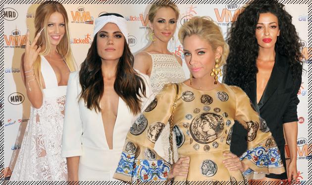 Oι celebrities περπάτησαν στο red carpet των #MAD VMA 2014! Φωτογραφίες